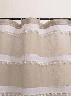 Witte linnen gordijnen witte gordijn paneel aangepaste - woonkamer ...