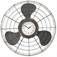 The Earhart Wall Clock from Urban Barn is a unique home decor item. Urban Barn carries a variety of Clocks and other products furnishings. Industrial Chic, Vintage Industrial, Unique Home Decor, Home Decor Items, Antique Fans, Modern Leather Sofa, Clock Art, Wall Clocks, Urban Barn