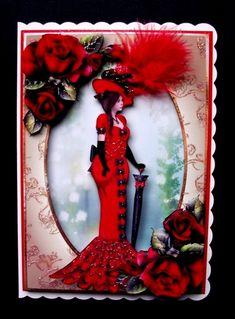 Edwardian Elegance Bumper Kit - Photo by Jayes Crafted Cards by Jennifer I Card, Joy, Elegant, Frame, Prints, Handmade, Classy, Picture Frame, Hand Made