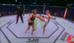 Holly Holm Knocks Out Ronda Rousey #UFC193