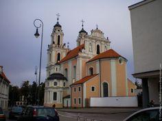 Vilnius is the city of churches // Vilnius, 2013 #travel #Lithuania #Vilnius #church