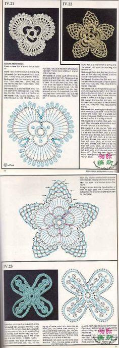 Handmade crocheted crochet artistic life