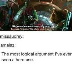 Me if I was arguing with a person.