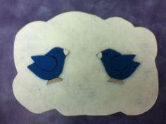 Fly Away Birds! #flannelboard #flannelfriday #birds