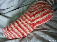 Väkerrystä - Dabbling in Nalbinding: Modatut Klas Brita -sukat - Klas Brita modified