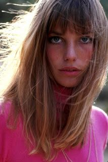 Jane Birkin. She just turned, and caught my eyes.