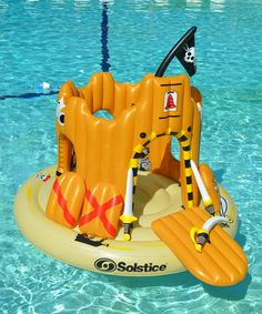 RIDE THE SEVEN SEAS......Another great find on #zulily! Pirate Island Float Set #zulilyfinds