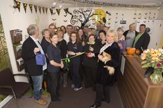 The grand opening of Phoenix Place For Health, with Sadie Nine BBC Essex.