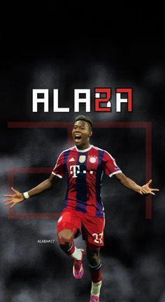 DAVID ALABA - Bayern Munich - Football - Soccer Creative Art - wallpaper