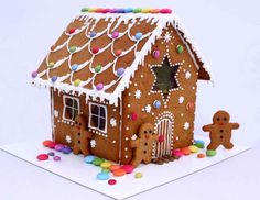 large gingerbread house kit