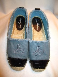 91549c16c3a21 Sam Edelman Lauren Mixed Media Espadrilles Blue