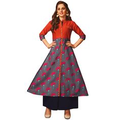 d9b5c84e43 Online Fashion Shopping Store for Littledesire Stylish Printed Long Kurta,  Ethnic Wear, Trendy Kurtas. Littledesire Stylish Printed Long Kurta Buy  Online ...