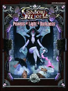 Shadow World: Powers of Light and Darkness for use with Iron Crown Enterprises Rolemaster tabletop roleplaying game.
