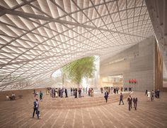 In Wake of Revolution, Francis Kéré Envisions a Transparent New Architecture for the Burkina Faso Parliament Building,Courtesy of Kéré Architecture