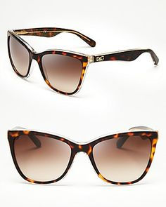 Dolce&Gabbana Cat Eye Sunglasses | Bloomingdale's