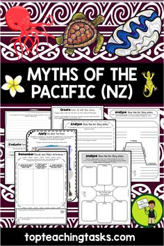Samoan Language Week. This reading resource includes SEVEN Year Five and Six Literature passages with six engaging text dependent higher order thinking tasks - perfect for reading comprehension! These link directly to the New Zealand Curriculum, Level Three, Listening, Reading and Viewing (see the Activity Information pages for more details on the exact skills found in each activity).  Myths are included from the following countries: Samoa, Cook Islands, Tonga, Tuvalu, Fiji, Niue and…
