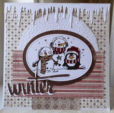 Scrapcard girls: Winter.....