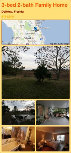 3-bed 2-bath Family Home in Deltona, Florida ►$159,900 #PropertyForSale #RealEstate #Florida http://florida-magic.com/properties/23339-family-home-for-sale-in-deltona-florida-with-3-bedroom-2-bathroom