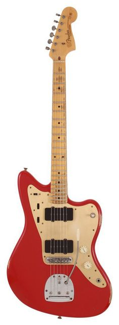 Fender Electric Guitar Custom Shop 58 Jazzmaster Relic Dakota Red | Rainbow Guitars