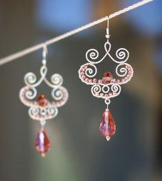 Victorian Style  earrings by SabiKrabi on Etsy, $0.30