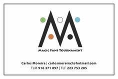 Cartão de visita - Magic Fans Tournament - vista por trás