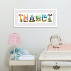 Hello Thandi! 😍 Custom SA Animal Alphabet name: A gorgeous, personalised, one-of-a-kind gift with soooo much SA flavour and character! 🐘🦒🐒 🇿🇦 🛒 Available in my online shop. Link in bio! 🌍 World-wide shipping available. #animalalphabet #babynames www.thehappystrugglingartist.co.za Alphabet Names, Animal Alphabet, Kid Names, Baby Names, Name Wall Art, African Animals, Your Child, Baby Shower Gifts, Art For Kids