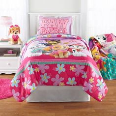 Paw Patrol Girl Room Collection, Multicolor