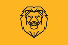 Simple Lion Head by olddirtydermot on @creativemarket