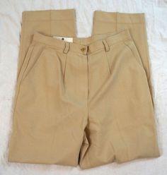 Saks Fifth Avenue Pleated Khaki Womens Dress Pants Size Denim Branding, Big Star, Saks Fifth Avenue, Talbots, Dress Pants, Casual Shorts, Khaki Pants, Pants For Women, Jeans