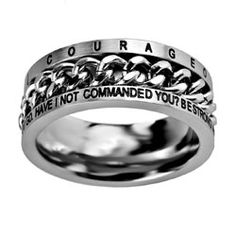 Courageous Chain Ring