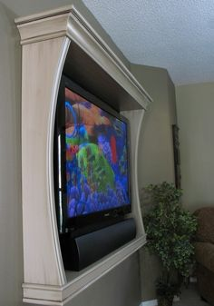 Frame wall tv