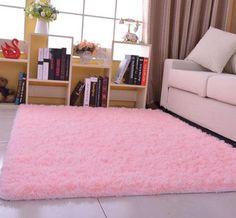 Hot Sale 4.5cm Long Plush carpet Shaggy Soft Carpet Area Rug Slip Resistant Door Floor mat for Living Room Kids Bedroom
