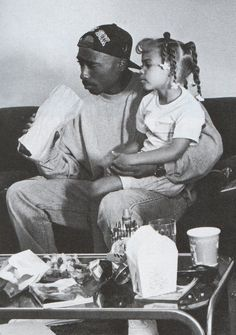 Tupac loves the kids...