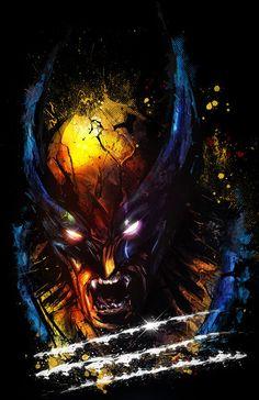 Wolverine by Vincent Vernatacola