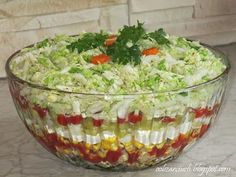 Sałatka gyros - Obżarciuch Anti Pasta Salads, Pasta Salad Recipes, Easy Salads, Polish Recipes, Easter Recipes, Dessert, Food Inspiration, Food Porn, Food And Drink