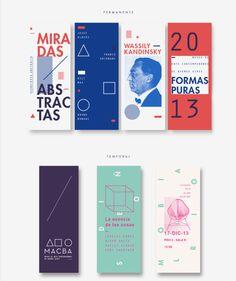 changethelocks:  trendgraphy: Identidad de Museo Julia FerrandoTwitter Graphic Design Brochure, Brochure Layout, Layout Design, Print Design, Web Design, Book Design, Stationery Design, Branding Design, Mise En Page Portfolio
