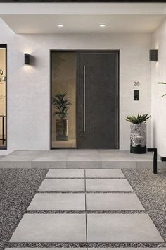 Like sandstone: tiles from - Gentle, modern, elegant. The Bernina outdoor tile Like sandstone: tiles from - Gentle, modern, elegant. The Bernina outdoor tile series from & Boch # - Modern Entrance Door, House Entrance, Apartment Entrance, Garden Entrance, Door Design, Exterior Design, Modern Exterior, Outdoor Tiles, House Front