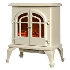 Warmlite 2000W Log Effect Stove Fire