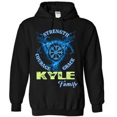 KYLE - Family - #awesome tee #tshirt with sayings. ORDER HERE => https://www.sunfrog.com/Names/KYLE--Family-4717-Black-Hoodie.html?68278
