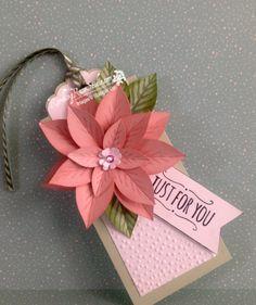 Poinsettia in Pink... | Rambling Rose Studio | Billie Moan