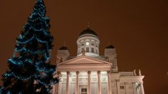 Christmas lights, St Thomas' market and warm drinks exude cheering warmth in the perfect Christmas city Helsinki.