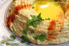 Хумус из нута в домашних условиях - рецепт с фото