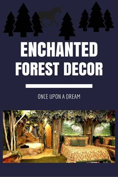 Ever wanted to live in one of the enchanted forests you read about in fairy tales? With these awesome enchanted forest decor ideas, now you can!