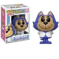 Wave 4 of Funko's Hanna Barbera Pop! Animation - Top Cat (Standard Edition, Non Chase). This Hanna-Barbera Top Cat Pop! Mint in box - fresh from the case! Hanna Barbera, Pop Vinyl Figures, Funko Pop Figures, Top Cats, Funko Pop Toys, Funko Pop Vinyl, Paw Patrol, Otaku, Dragon Ball