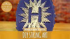 DIY String Art - HGTV Handmade