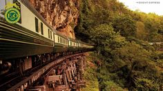 Eastern and Oriental Express - Luxury Train travel through South East Asia, Thailand and Singapore.