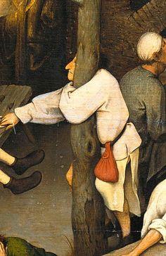 Pieter Bruegel the Elder - The Dutch Proverbs, detail, 1559