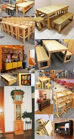Use Pallet Wood Projects to Create Unique Home Decor Items Wooden Pallet Projects, Wooden Pallet Furniture, Pallet Crafts, Wooden Pallets, Pallet Wood, Wood Crafts, Pallet Ideas, Outdoor Pallet, Wood Ideas