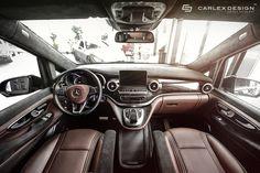 Mercedes V-Klasse von Carlex Design: Luxus pur im Großraum-Van