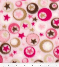 I like this fabric for a baby blanket....4 great great nephews and finally 1 girl great great niece